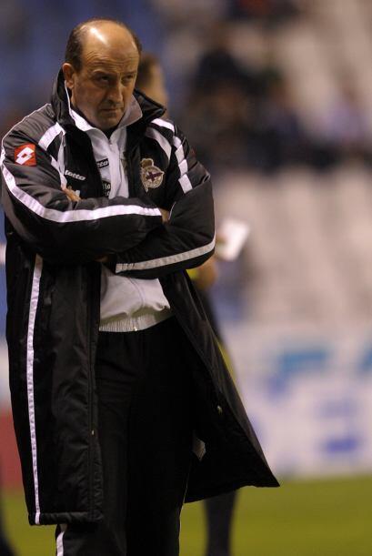 El 3-0 global lucía definitivo para Lotina, técnico del Deportivo.