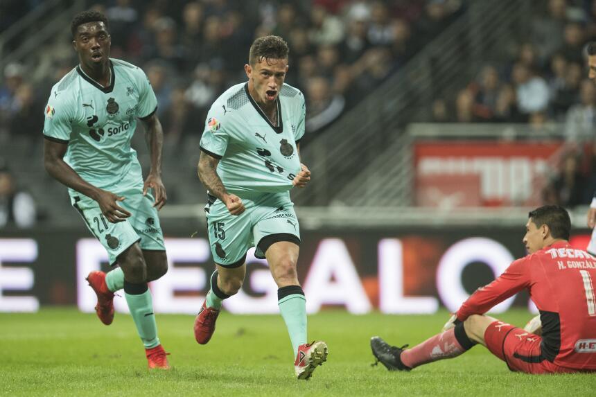 Monterrey empató con Santos y peligra el liderato general gol-lozano.jpg