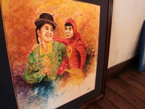 El Museo de Arte Contemporáneo Plaza de La Paz inaugura una expos...