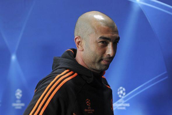 """El técnico """"blue"""", el italiano Roberto Di Matteo, parec..."""