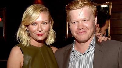 LOS ANGELES, CA - OCTOBER 07: Actress Kirsten Dunst (L) and actor Jesse...