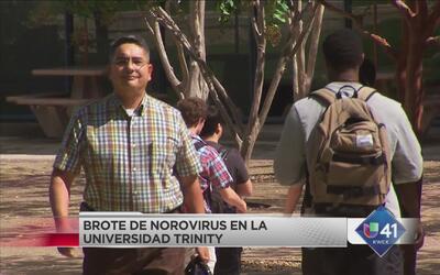 Brote de norovirus en Universidad Trinity