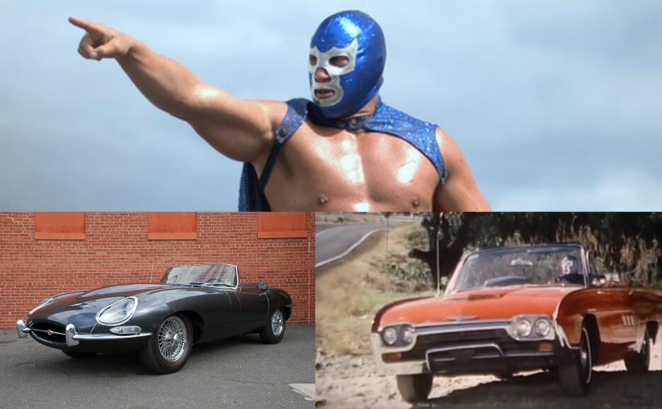 Los maravillosos autos de Blue Demon