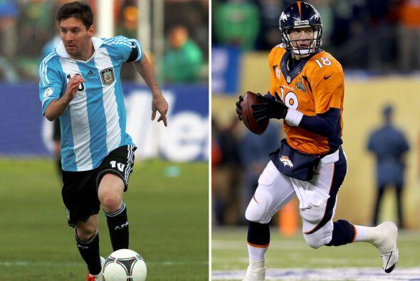 Argentina-Denver Broncos Lionel Messi y Peyton Manning siguen buscando s...