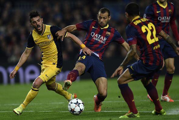 La presión de los madrileños no dejó que el Barcelona exhibiera su mejor...