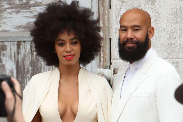 Solange Knowles, hermana de Beyoncé, y su marido Alan Ferguson quedaron...