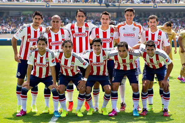 Las Chivas son el único plantel en primera división que no...