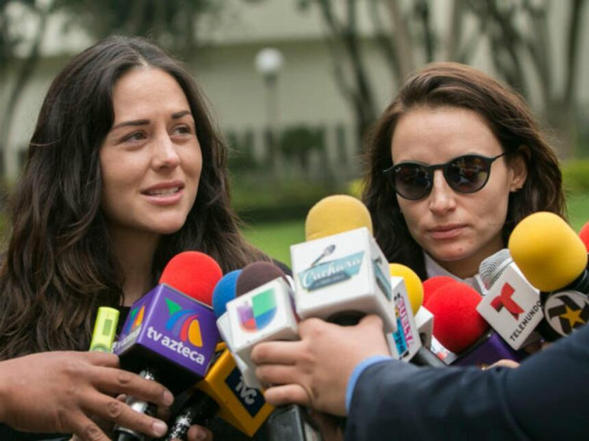 Zuria Vega y Marimar Vega