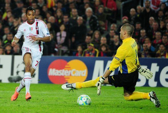 Las pocas oportunidades que tuvo el Milan fueron contenidas por Vald&eac...