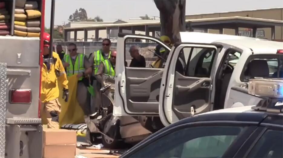 Accidente en California