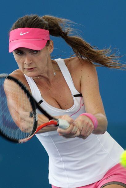 Benesova sólo ha conseguido dos títulos WTA, ambos en tierra batida, el...