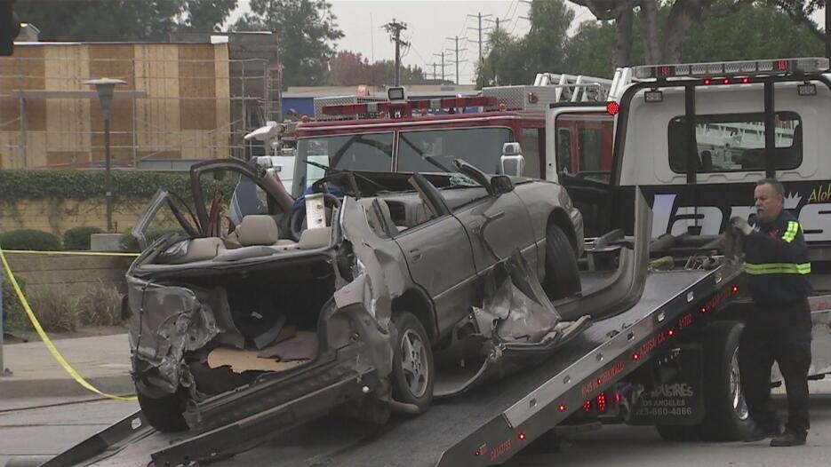 Accidente en Arcadia, California