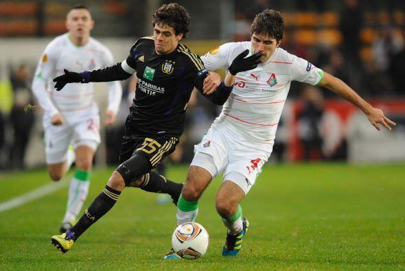 El Anderlecht quería cerra su paso a la siguiente fase de manera perfecta.