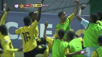 Jamaica anota de penalti el gol de triunfo ante EEUU en CONCACAF Sub-17