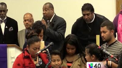 Realizan vigilia para suspender la deportación de Lilian Cardona