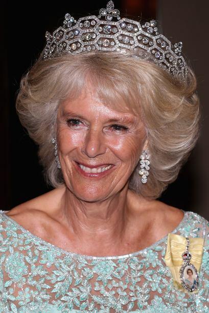 Camilla, la duquesa de Cornwall, ha lucido una de las más grandes y segu...