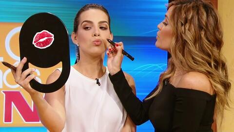 Karla y Andrea probaron 'lo más in' en productos de belleza, como este l...