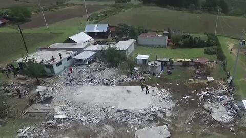 Explosión de pitotecnia en Puebla deja al menos 14 muertos