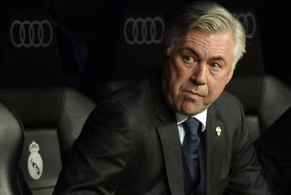 Carlo Ancelotti decidió hacer varias modificaciones en su alineación tit...