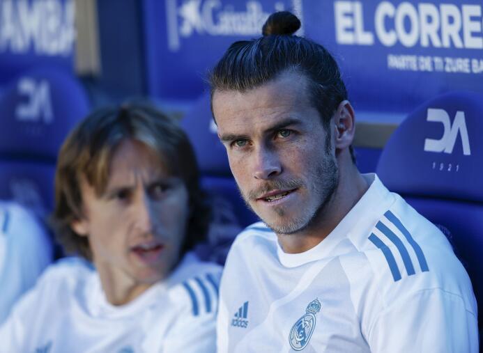18. Gareth Bale (Futbolista) - ingresos por 34 millones de euros en el 2017