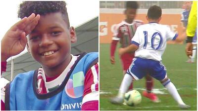 Este es Pedro Barreto: el niño prodigio de Brasil que le daría clases de caños a Neymar y a Marcelo