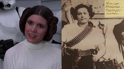 Princesa Leia, tu peinado se lo debes a México