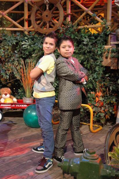 Jorge y Miguel Ángel son inseparables y disfrutan de compartir el escenario