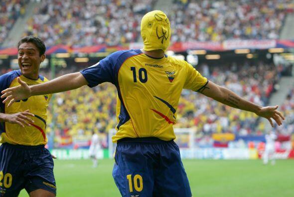 En plena Copa del Mundo de Alemania 2006,  Iván Kaviedes, jugador...
