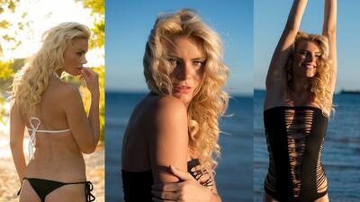 Ella es Misha, una espectacular modelo del MotoGP y amante de los deportes