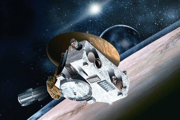 Imagen proporcionada por la NASA de New Horizons.