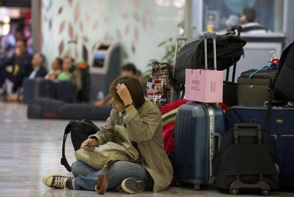 Poco más de 6.6 millones de viajeros perdieron sus vuelos y, según datos...
