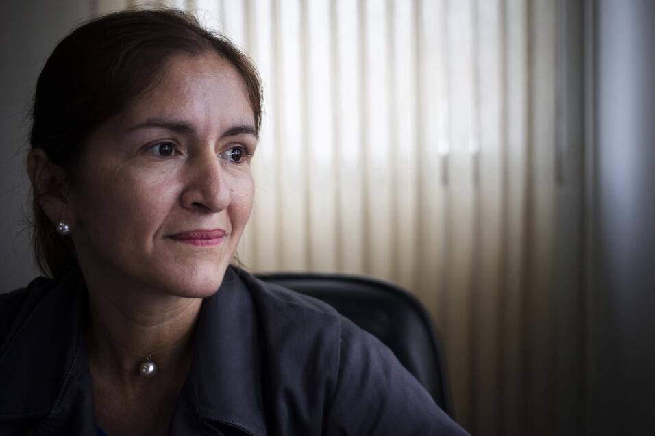 Lucía Sandoval dedicó sus años en prisión a...