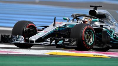 Hamilton gana en Francia y recupera el liderato de la F1
