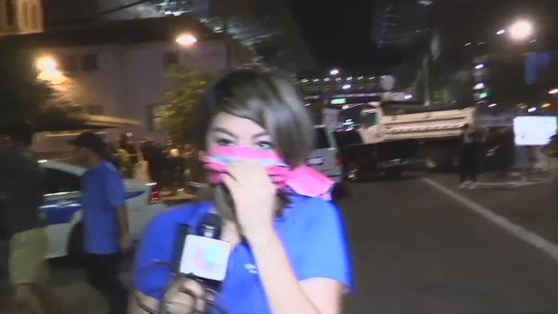 Testimonio de las protestas y caos en el centro de Phoenix por la visita...