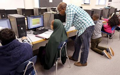 Programa de educación para adultos inmigrantes.