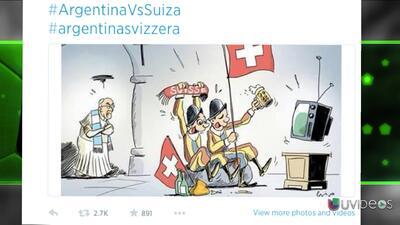 El meme del Papa argentino y la Guardia Suiza previo al partido