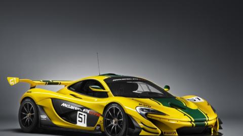 El híbrido enchufable McLaren P1 fue fabricado en los años 2014 y 205 a...