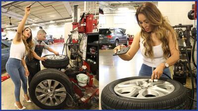 Dicen que las mujeres no saben de mecánica, ¿La Bronca habrá pasado la prueba?