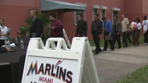 Los Miami Marlins realizará este martes una feria de empleo