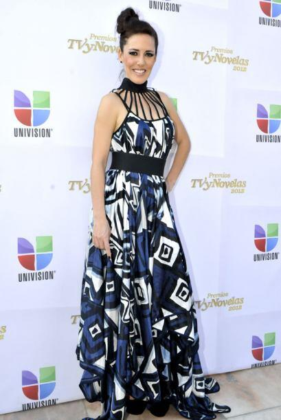 Cat Creel: El vestido de Stephanie Salas es de una marca llamada Malafac...