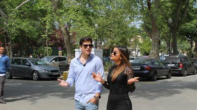 Más romántico imposible: Clarissa y Danilo pasearon en carroza por Sevilla y así recordamos el momento