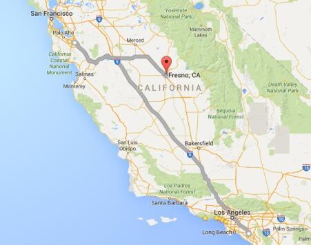 Los fugitivos viajaron de Santa Ana a San José, se cree que irán a Fresno