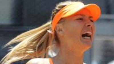 Sharapova jugará la Final del torneo de Madrid contra Serena Williams.