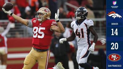 Mullens y Kittle le dan la victoria a los 49ers a costa de los Broncos