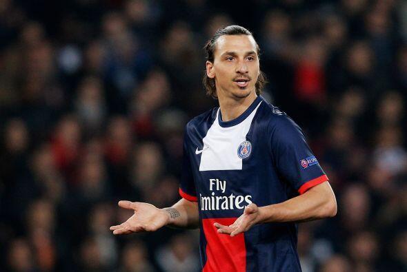 12.- Zlatan Ibrahimovic hizo un buen negocio al firmar para el PSG con 4...