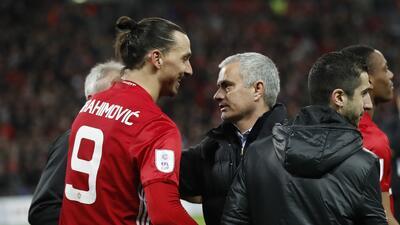 """Zlatan Ibrahimovic: """"A Mourinho no lo critican por los resultados, sino por su forma de ser"""""""