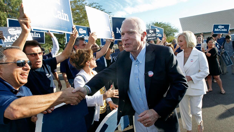 John McCain ganó su contienda y contribuyó a mantener la mayoría republi...