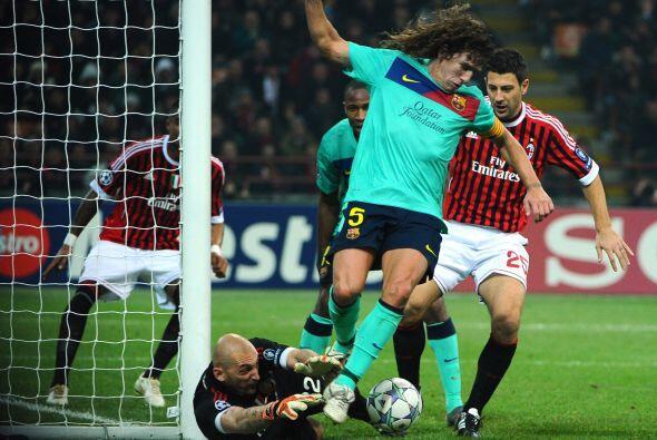 Aún hubo opciones para muchos goles más, pero las defensas se empleaban...