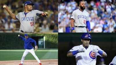 Roster de los Chicago Cubs para la Serie Mundial