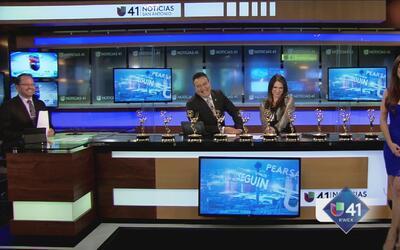 Univision 41 galardonada con varios Emmy